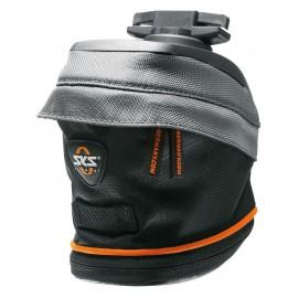 Sks сумка под седло race bag m, обьём: 1,0 л, крепление быстросьёмное, чёрно-серая