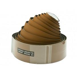 Velo оплётка на руль vlt-012 200х3 см пу/винил, коричневая, с заглушками