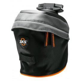 Sks сумка под седло race bag s, обьём: 0,8 л, крепление быстросьёмное, чёрно-серая