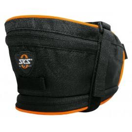 Sks сумка под седло base bag xl, обьём: 1,4 л, крепление с помощью ремешка, чёрная