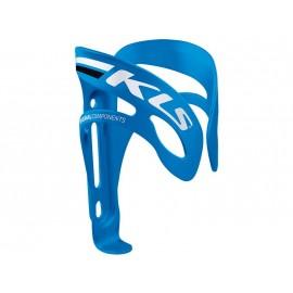 Флягодержатель Kellys kls squad. материал: алюминий 6061-т5. вес 47г. цвет: синий с белой и чёрной полосами