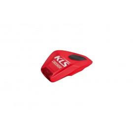 Kellys фонарь диодный задний crooker, 2 режима, цвет: красный