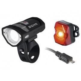 SIGMA Комплект освещения BUSTER 200 HL / NUGGET FLASH с кабелем Micro-USB