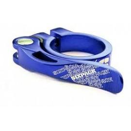 Хомут подс. 31.8mm. sixpack menace, цвет: blue ano.