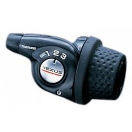 Shimano шифтер sl-3s35e nexus, 3 скорости, трос с оплеткой + комплект деталей для задней втулки