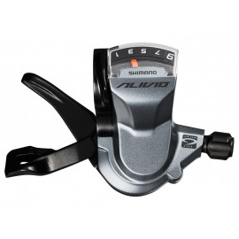 Shimano шифтер sl-m4000 alivio правый 9 передач, трос 2050мм, с дисплеем, без уп.