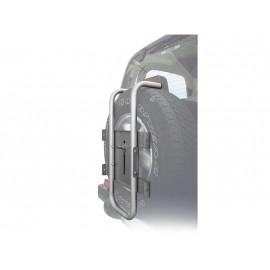 Peruzzo автобагажник на запаску stelvio (основа), сталь, труба d:30 мм, цвет: серое защитное покрытие, упаковка-термоплёнка
