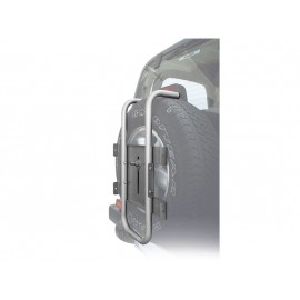 Peruzzo автобагажник на запаску stelvio (основа), алюминий, труба d:30 мм, цвет: серый, упаковка-термоплёнка