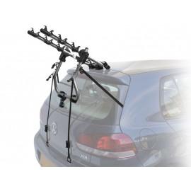 Peruzzo автобагажник на заднюю дверь verona сталь, труба d:30 мм, для 3 в-дов весом до 15кг, фиксация велосипеда за верхнюю трубу рамы (max d:60 мм), цвет: серый, упаковка-картонная коробка