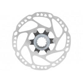 Shimano ротор sm-rt64, deore под center lock, d:160мм, c гайкой, б/уп