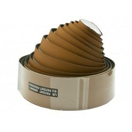 Velo оплётка на руль vlt-032g-07 200х3 см, микрофибра, гель, светло-коричневая, с заглушками