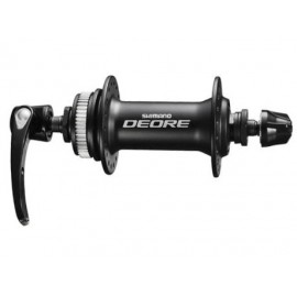 Shimano втулка передняя hb-m615-l deore, 36h, center lock, old:100mm, ось 108мм, эксц.133мм, черная, без уп.
