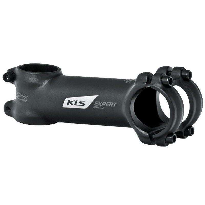 """Kellys вынос руля kls expert, 1 1/8"""" х 130мм х 31,8мм х 7?, al 6061, чёрный"""