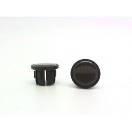 """Velo заглушки руля vlp-49-2, d:20, пластик, с вставкой """"под карбон"""", пара"""
