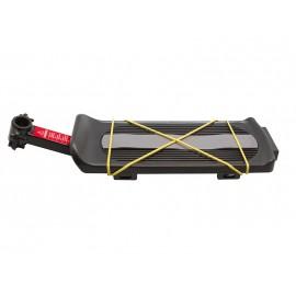 Yueni багажник yf-4s консольный, сталь/пластик, чёрный, с катафотом
