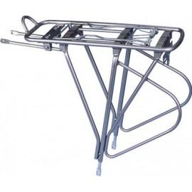 """Bor yueh багажник by-396hc, 26-28"""", алюминий, с боковыми дугами, с пружиной, чёрный"""