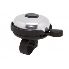 Звонок fy-01a-s/bk, d:53м. материал: алюм./пластик, купол: хром, крепление: чёрное.