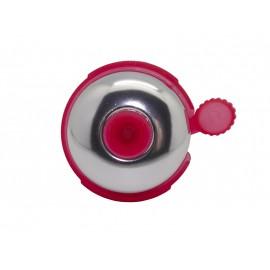 Звонок fy-01a-s/r, d:53мм. материал: алюм./пластик. цвет: серебристый/красный.