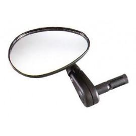 Зеркало dx-222 с регулировкой в различных плоскостях. крепится в руль с внутренним d:15-22мм. в торг.уп.