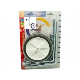 """Колеса sm-284-oasp приставные 5"""" для в-дов 12-20"""". максимальная нагрузка 50 кг. цвет белый. упаковка - блистер"""