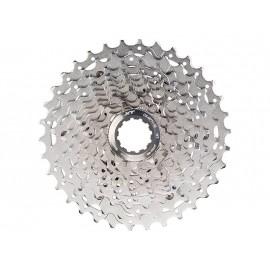 SHIMANO Кассета CS-M771-10 XT 10 скоростей, 11-12-14-16-18-20-22-25-28-32T, алюминиевый паук, 264г, без уп.