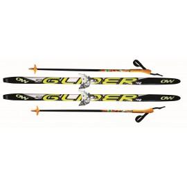Комплект лыж 75 мм детский