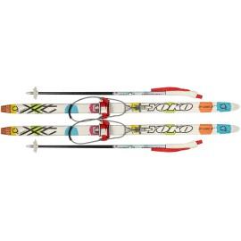 Лыжный комплект с кабельным креплением