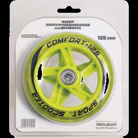 Набор колес 125 мм и подшипников Abec 7 2017