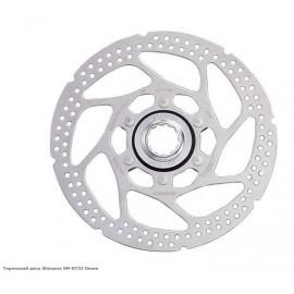 SHIMANO Ротор SM-RT54, DEORE под center lock, D:160мм, только для органических колодок