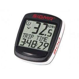 SIGMA Велокомпьютер Baseline 800: скорость, средняя скорость, общий километраж, расстояние, время в поездке, часы